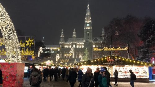 Christmas Market in Vienna at the City Hall (Rathaus) © echonet.at / rv