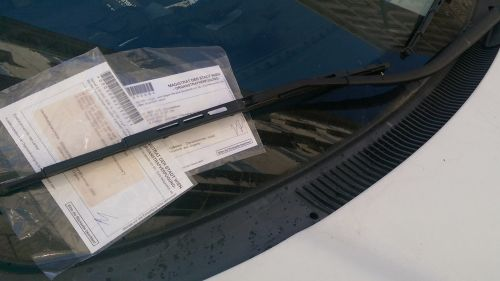 Penalty Ticket for Parking Wrong in Vienna © echonet.at / rv