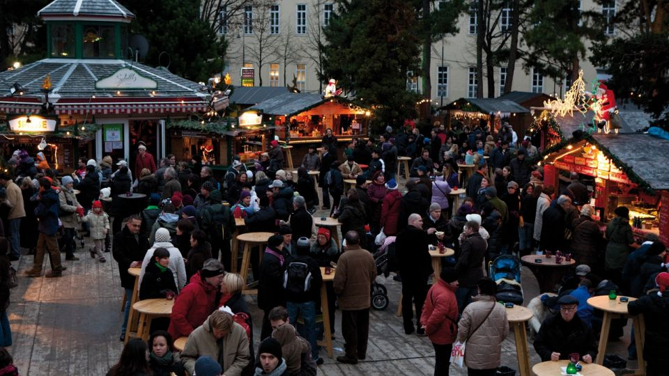 Christmas Market Old General Hospital (AKH) Vienna © MAGMAG events & promotion GmbH